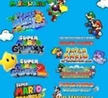 Mario Timeline by RoGMasterCha0s