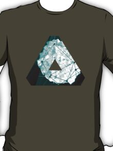 OVERWERK (abstract turquoise) T-Shirt