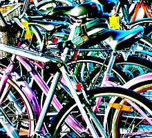Contrasty Bikes by Bob Wall