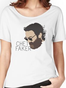 Chet Faker - Minimalistic Print Women's Relaxed Fit T-Shirt
