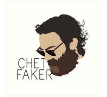 Chet Faker - Minimalistic Print Art Print