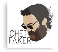 Chet Faker - Minimalistic Print Metal Print