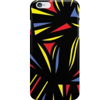 Gleisner Abstract Expression Yellow Red Blue iPhone Case/Skin