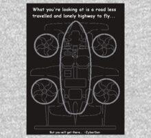 JAY Flying Car Plan by ZyberDon