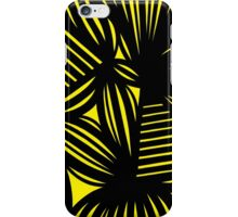 Cutchin Abstract Expression Yellow Black iPhone Case/Skin