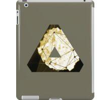 OVERWERK (abstract gold/sand/Deus Ex) iPad Case/Skin