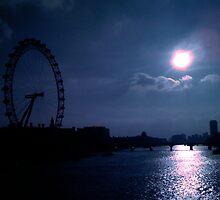 London Eye by Robert Steadman