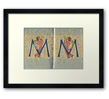 The Sketchbook Project 2016 - Pages 12 & 13 Framed Print