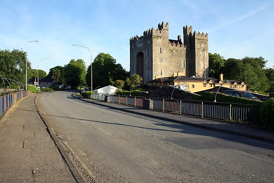 Summers morning at Bunratty Castle by John Quinn