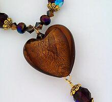 Big Bronze Heart by Erica Long