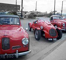 Red Cars by Robert Steadman