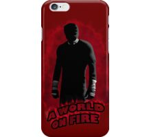 A World on Fire iPhone Case/Skin