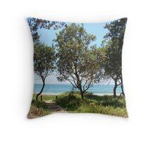 (46)-Shark Bay Throw Pillow