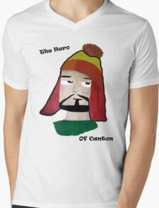 The Hero of Canton Mens V-Neck T-Shirt