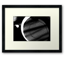 The coffe liner Framed Print
