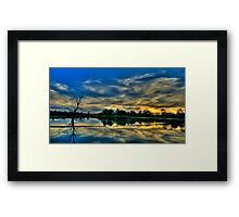 Blessed - Wonga Wetlands, Albury NSW - The HDR Experience Framed Print