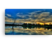 Blessed - Wonga Wetlands, Albury NSW - The HDR Experience Canvas Print