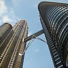Petronos Towers, Kuala Lumpar by wilderpisces