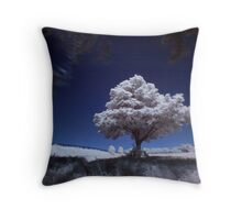 Tree (IR) Throw Pillow