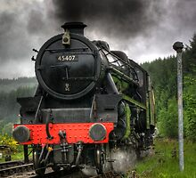 No.45407 A Closer View of The Lancashire Fusilier by Trevor Kersley