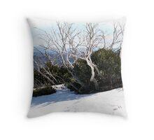 phoenix snowgums Throw Pillow