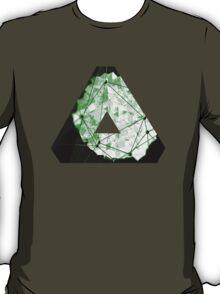 OVERWERK (abstract green) T-Shirt