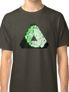Abstract Geometry: Neon Forest (Dark Green) Classic T-Shirt