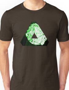 Abstract Geometry: Neon Forest (Dark Green) Unisex T-Shirt