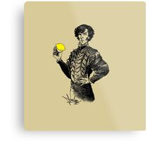 Not Sure if the Lemon is in Play?! Metal Print