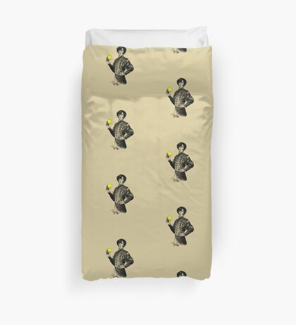 Not Sure if the Lemon is in Play?! Duvet Cover