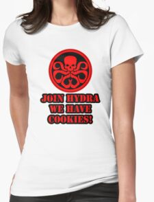 Join Hydra We Have Cookies! Womens Fitted T-Shirt