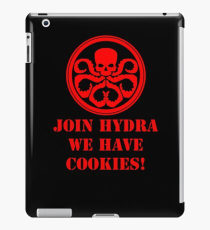 Join Hydra We Have Cookies! iPad Case/Skin