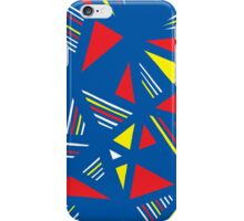 Zugg Abstract Expression Yellow Red Blue iPhone Case/Skin