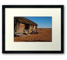 Old Andado Station, Simpson Desert Framed Print