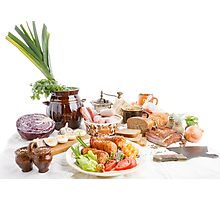 Swedish table  Photographic Print