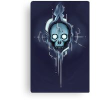 Cyberspace Gothic Canvas Print