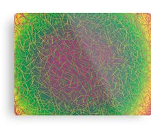 It's a Psychedelic World  Metal Print