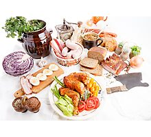 various meal type  Photographic Print