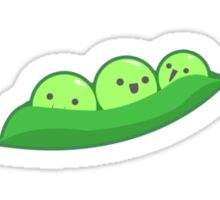 Smiling Peas Sticker