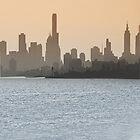 Melbourne Skyline by yorgi
