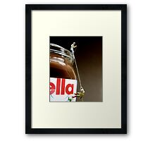 Sin of Gluttony Framed Print