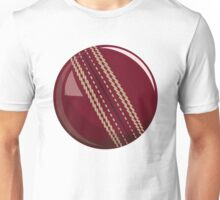 Cricket Sport Bat Ball Unisex T-Shirt
