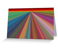 Rainbow Landscape Greeting Card