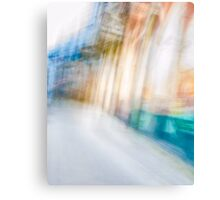 Ghostly colorful Architectures Canvas Print