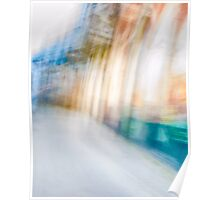 Ghostly colorful Architectures Poster