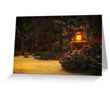 Silent Night... Greeting Card