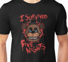 I Survived Five Nights At Freddy's Pizzeria Unisex T-Shirt
