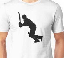 Cricket Sport Bat Ball Unisex T-Shirt