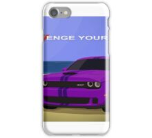 Challenge Yourself. iPhone Case/Skin