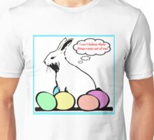 SORE EASTER BUNNY Unisex T-Shirt